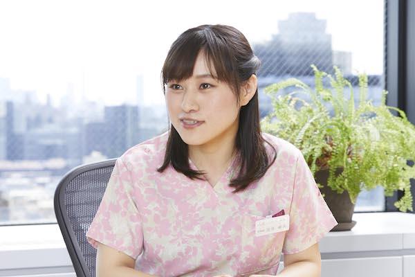 しまナーシングホーム白金 看護師 金井亜美
